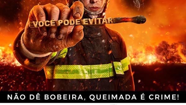 Sec Municipal de Meio Ambiente em campanha de combate às queimadas